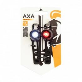Фар и стоп комплект мигалки Axa Metro