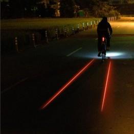 Стоп Lezyne Laser Drive - 250 лумена с очертаващи ленти
