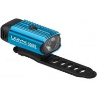 Фар Lezyne Hecto drive - 500 лумена, USB, модел 2020 - син