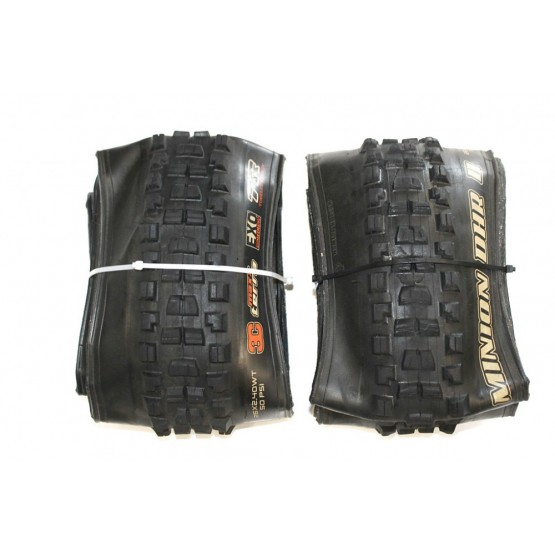 Външна гума Maxxis Minion DHR II 26 x 2,40WT EXO/TR/3C - 2 бр употребявани