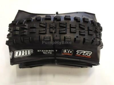 """Външна гума Maxxis Minion DHF 27,5"""" x 2,50 EXO / TR / WT  foldable OEM"""