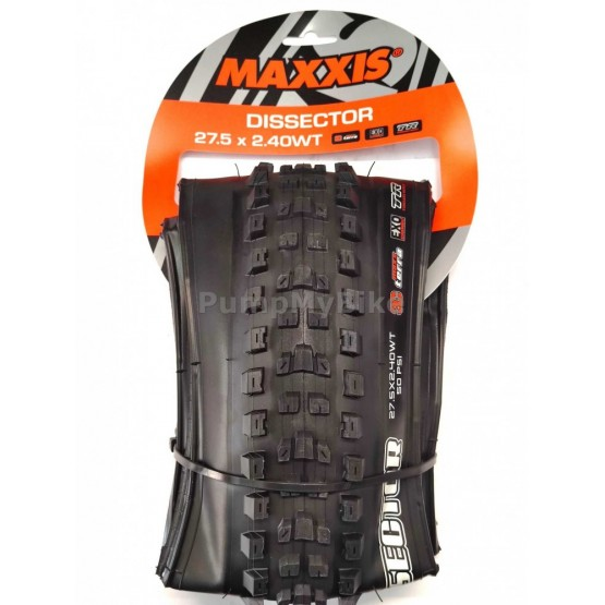 "Външна гума Maxxis Dissector 27,5"" x 2,40 3C / MaxTerra / EXO / TR / WT"