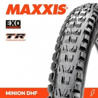 Външна гума Maxxis Minion DHF 26x2,50 3C / EXO / TR / WT fold