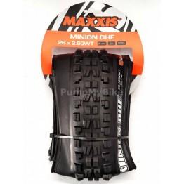 "Външна гума Maxxis Minion DHF 26"" x 2,50 3C / EXO / TR / WT"