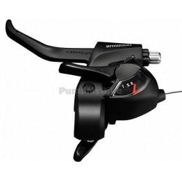 Команди Shimano ST-EF41 с лостчета - комплект 3х7