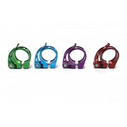 Скоба за седалка 607 - 34,9 мм. - червена, синя, зелена, лилава
