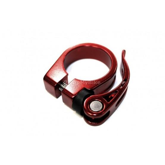 Скоба за седалка 607 - 31,8 мм. - червена