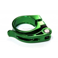 Скоба за седалка 607 - 34,9 мм. - зелена
