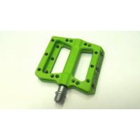 Педали Paragon PVC с капс.лагери - зелени