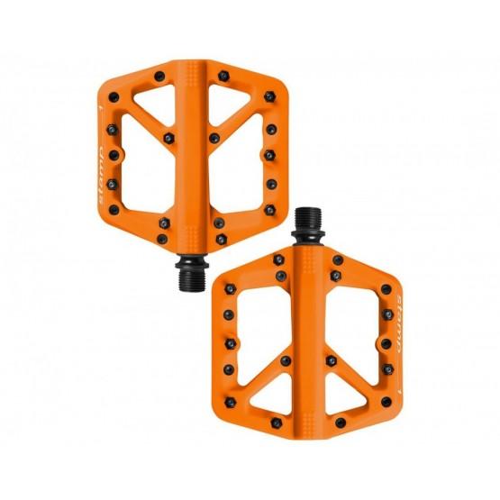 Педали CrankBrothers Stamp1 Splash Edition - оранжеви Large