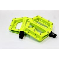 Педали Cube RFR flat CMPT - електриково-жълти