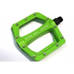 Педали Cube RFR flat CMPT - зелени