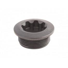 Болт за Hollowtech II курбели Shimano - пластмасов черен