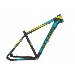 "Рамка Cross GRX 29"" x 510 - черно-синьо-жълта"