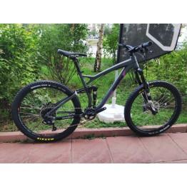 """Велосипед RAM Fusion 27,5"""" - сив / лилав"""