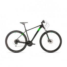"""Велосипед Cube Aim Race 29"""" черно-зелен"""