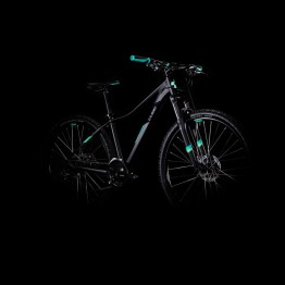 Велосипед CUBE ACCESS WS - черен / мента