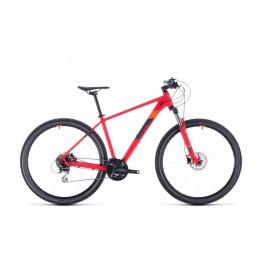 """Велосипед Cube Aim Race 29"""" червен - оранжев"""