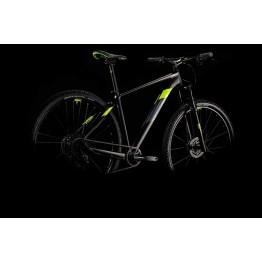 """Велосипед Cube Analog 29"""" черно-жълт 1х12"""