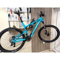 "Велосипед Oryx T140 - full suspension, 27,5"" - XL син"