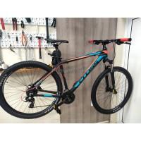 """Велосипед Cross GRX HDB 29"""" х 510 - custom, черно-син-червен"""