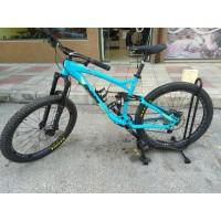 """Велосипед RAM Fusion 27,5""""- син M / L - под наем"""