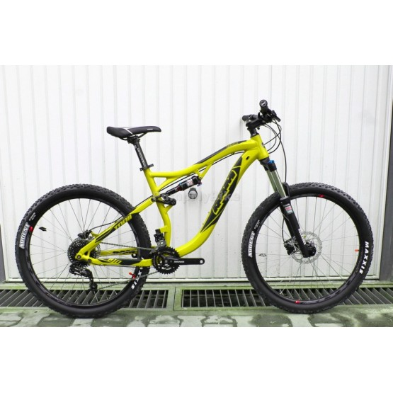 "Велосипед RAM TRAIL.1 27,5"" - apple green - светло зелен гланц"