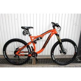 """Велосипед RAM TRAIL 27,5"""" - оранжев мат, модификация 3 - S размер"""