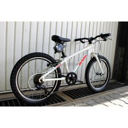 "Велосипед RAM HT 20"" - бял"