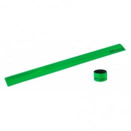 Светлоотразителна лента за крачол Force - зелена или бяла