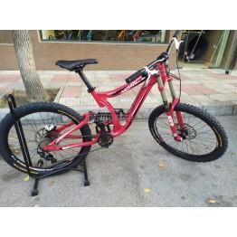 "Велосипед Norco DH Race 26"" червен М  - употребяван"