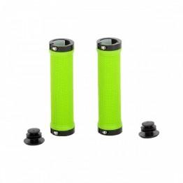 Грипове Crosser HL-G201 - с двойно заключване, зелени с черни пръстени