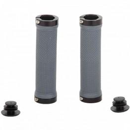 Грипове Crosser HL-G201 - с двойно заключване, сиви с черни пръстени