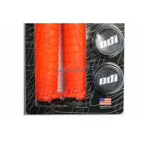 Грипове ODI Troy Lee Design - двойно заключванe - оранжеви