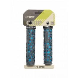 Грипове Т-One H2O - сиво-сини, заключване