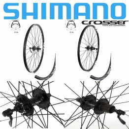 "Комплект капли Crosser X6 - Shimano M475 диск, 26"" - 27,5"" - 29"""
