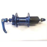 Задна главина Venzo 10 x 135, 32H  - синя