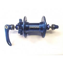Предна главина Venzo 9 x 100, 32H  - синя