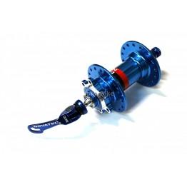 Предна главина Novatec D081 9x100 - червена или синя