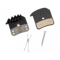 Хидравлична спирачка Shimano Zee M-640 - промо комплект с метални накладки с радиатори H03C