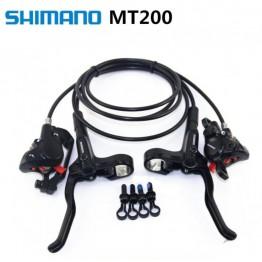 Хидравлични спирачки Shimano BL-MT200 - комплект предна + задна OEM