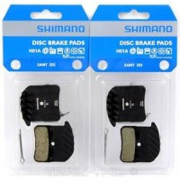Накладки Shimano H01A с охлаждане - за  Zee / Saint / Deore XT8020 - органични