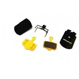 Накладки Brakco BPC-44s за Avid Elixir / DB / Level - синтеровани с радиатори