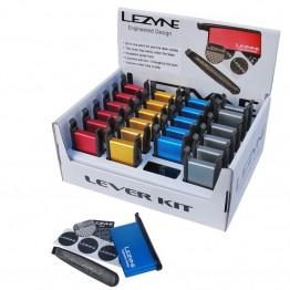 Щангички и лепенки за гуми комплект Lezyne lever kit