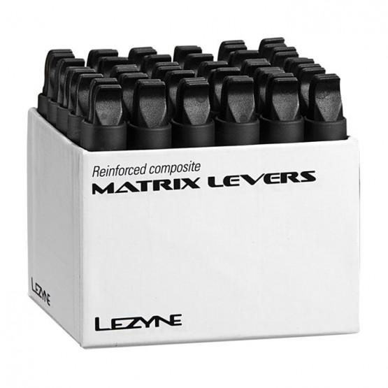 Щангички за демонтаж на гуми Lezyne Matrix lever - комплект 32 чифта