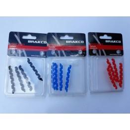 Протектори за броня Brakco 4 бр. - син, черен или червен