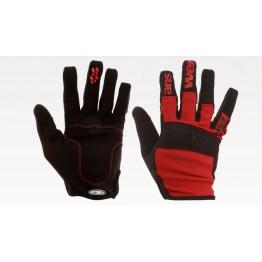 Ръкавици Answer Enduro с дълги пръсти - червени