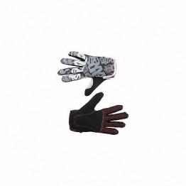 Ръкавици Answer Clash с дълги пръсти - сиво-черни
