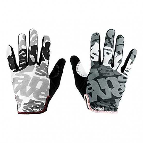 Ръкавици Answer Clash с дълги пръсти- L - сиво-черни