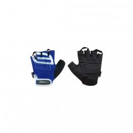 Ръкавици с къси пръсти Force Sport - сини S